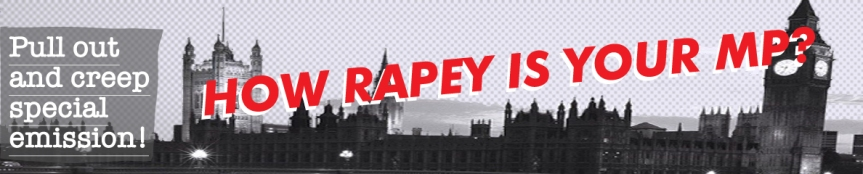 How rapey is your MP?